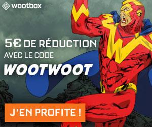 code promo 5 € wootbox box geek