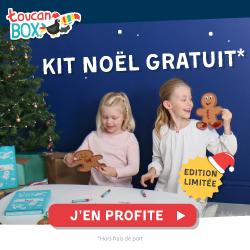 kit noel gratuit toucanbox