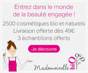 bannière Mademoiselle Bio