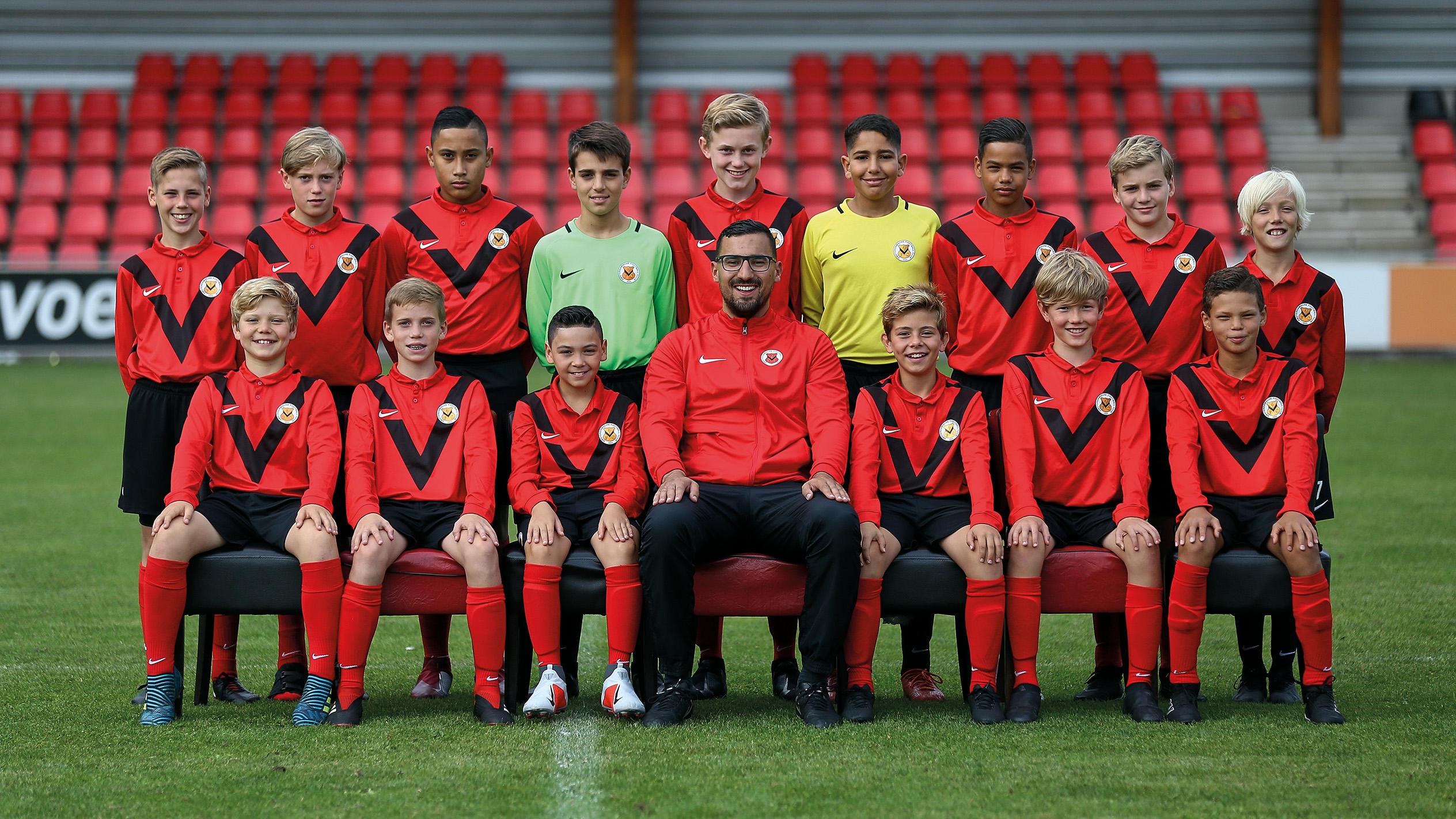 Teamfoto AFC JO13-1