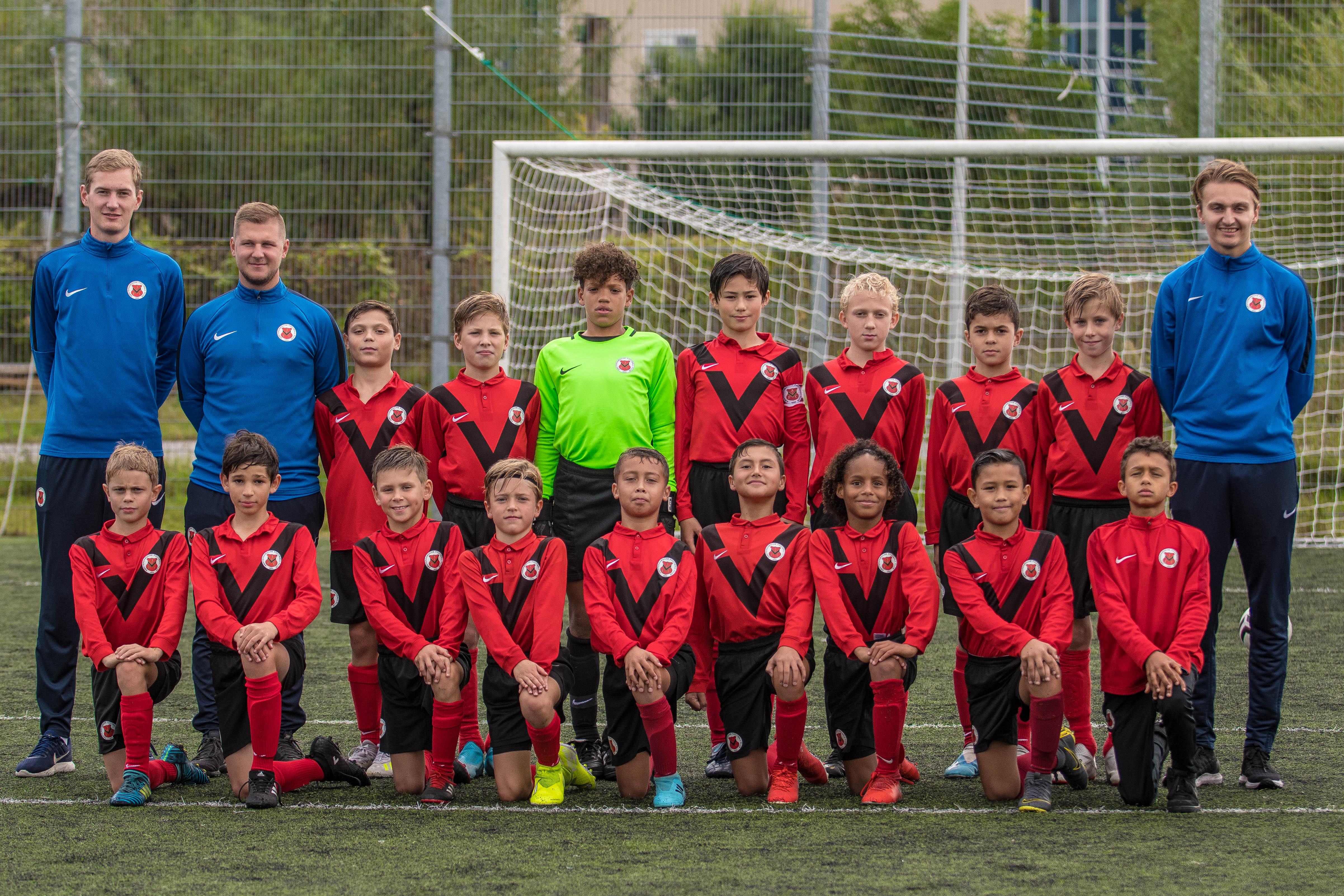 Teamfoto AFC JO13-4