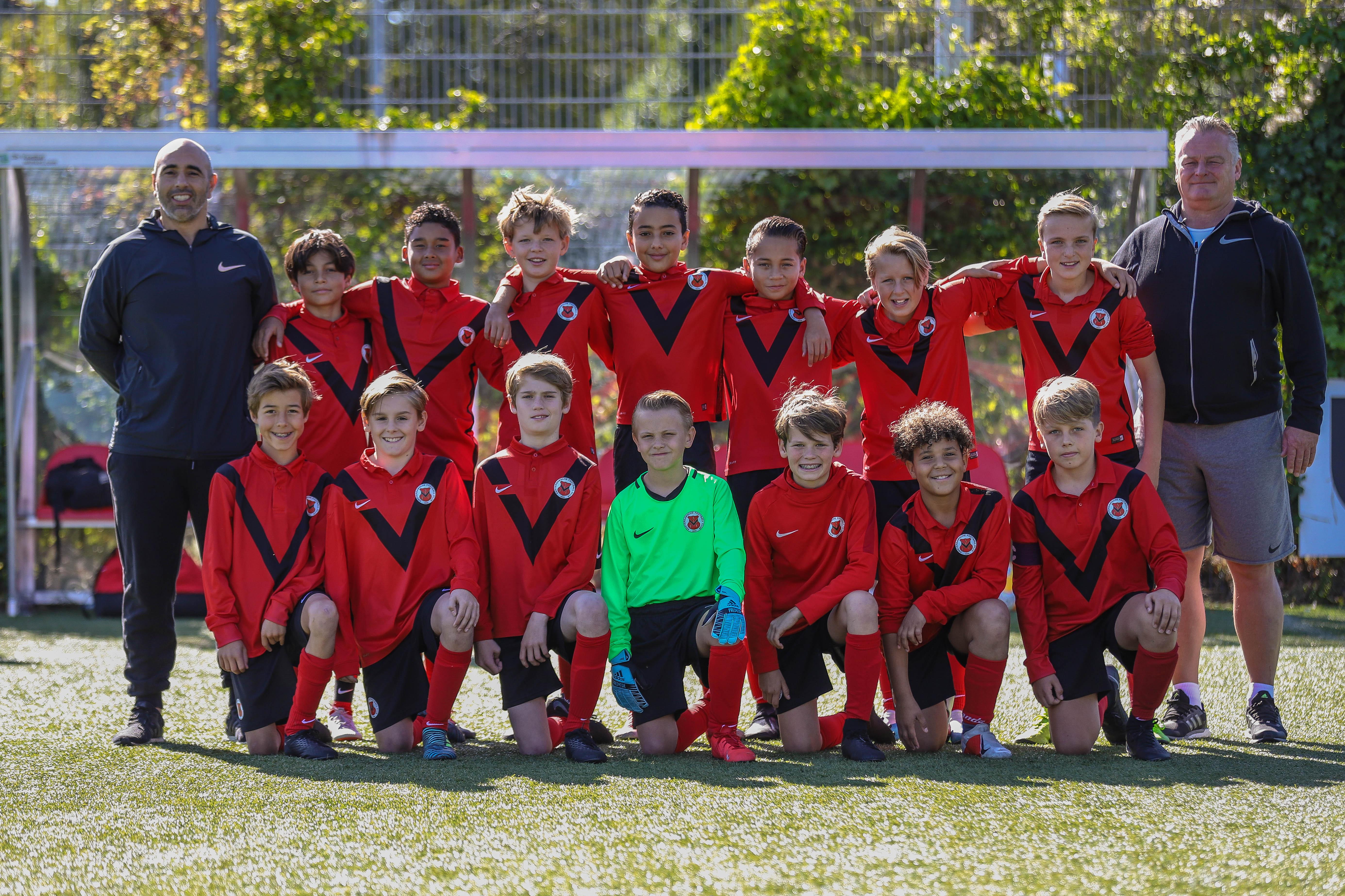 Teamfoto AFC JO13-5