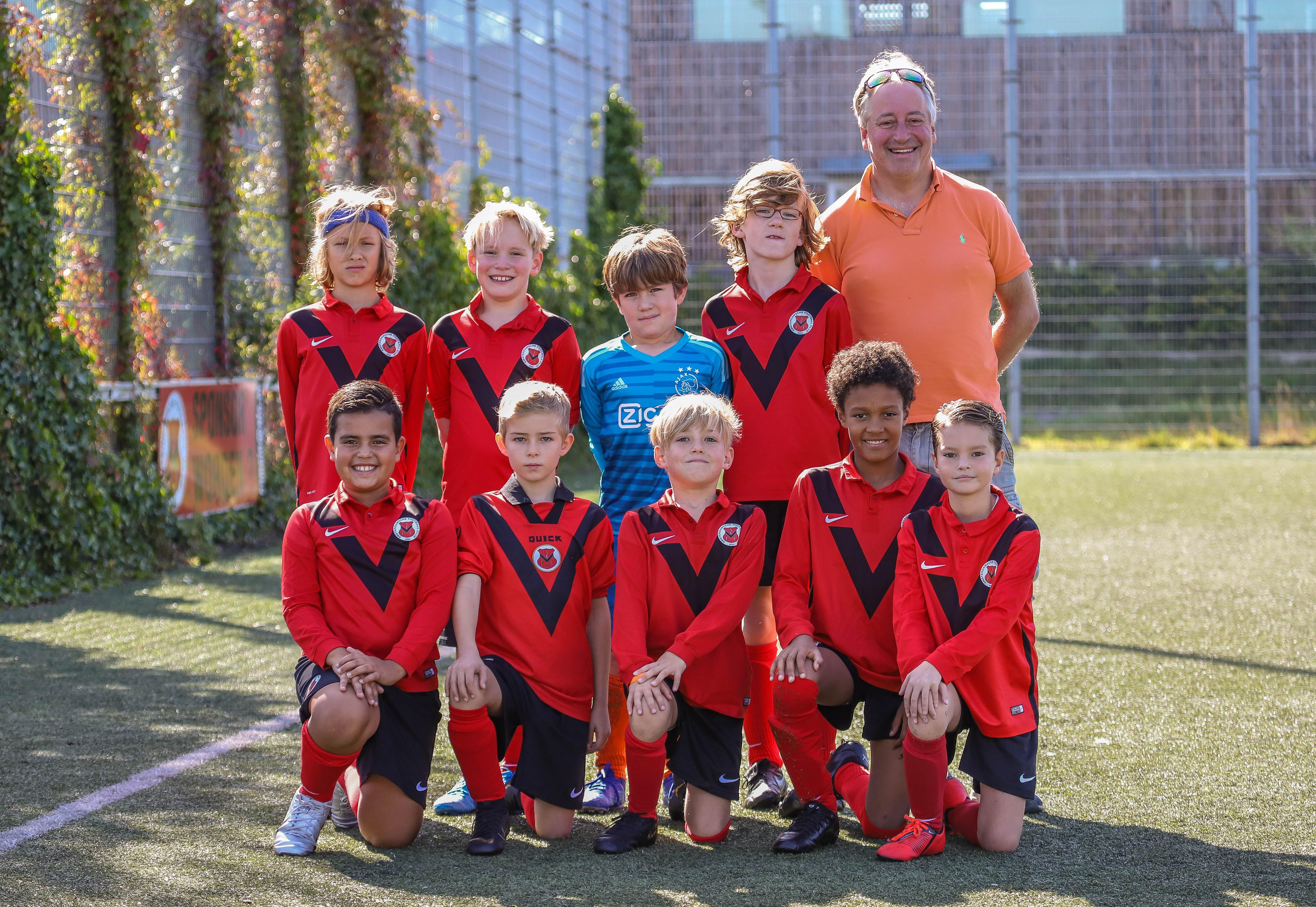 Teamfoto AFC JO10-6