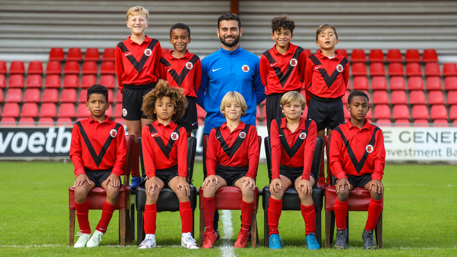 Teamfoto AFC JO9-1
