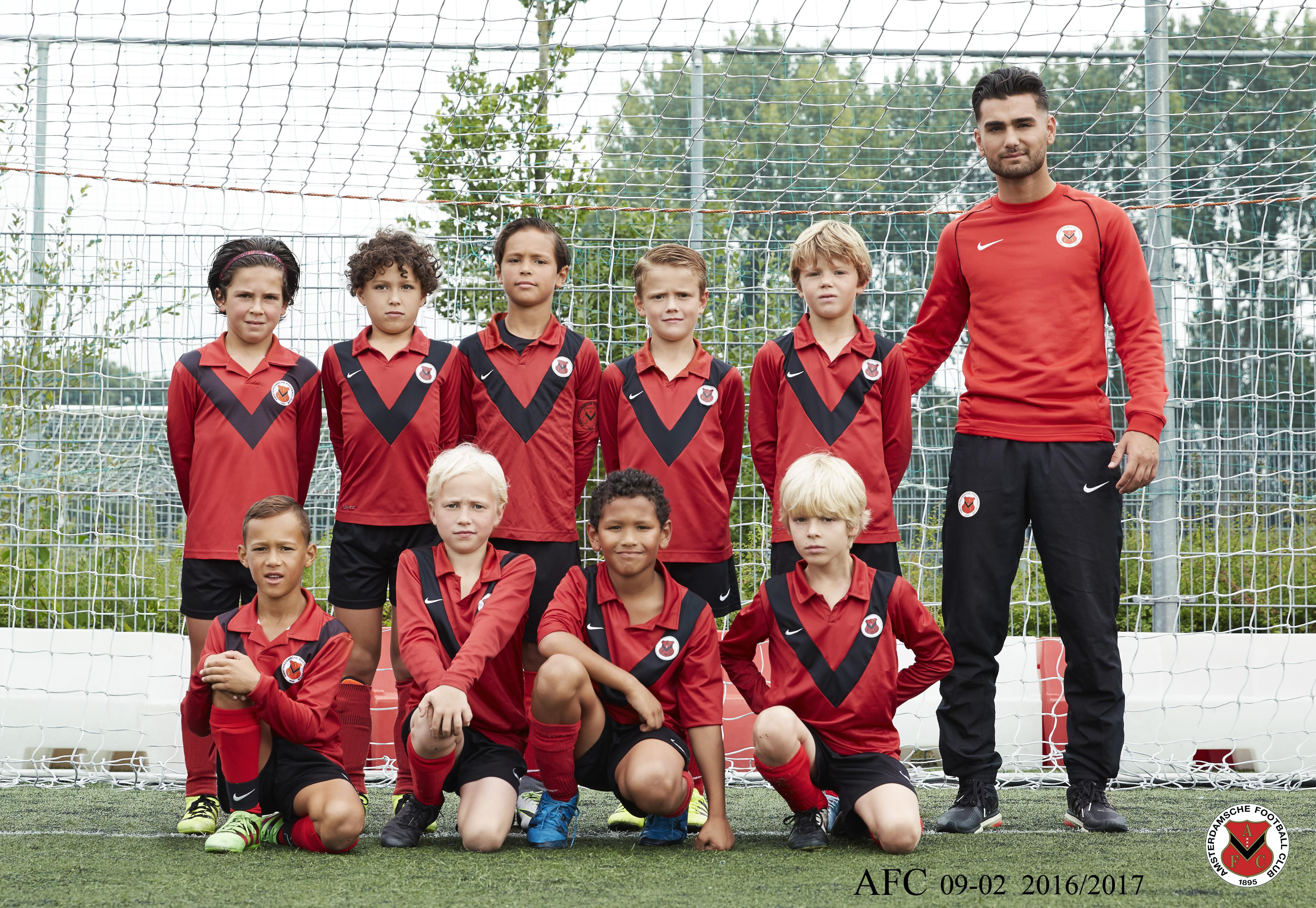 Teamfoto AFC JO9-2