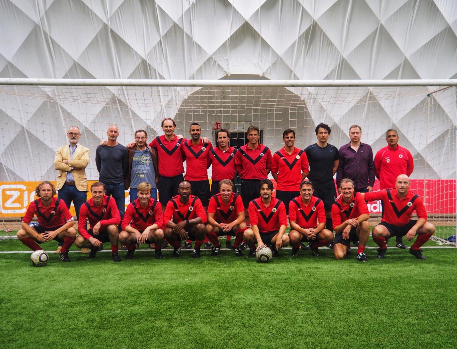 Teamfoto AFC Klassieke Vet.