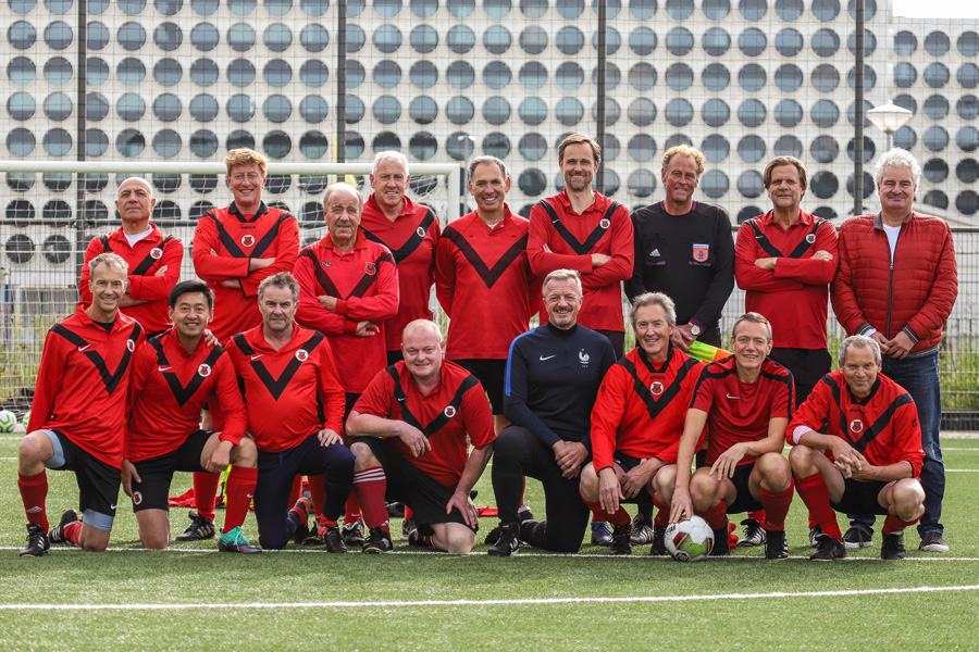 Teamfoto AFC Vet. 45+ 1