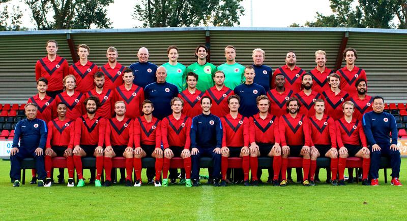Teamfoto AFC Zaterdag 1