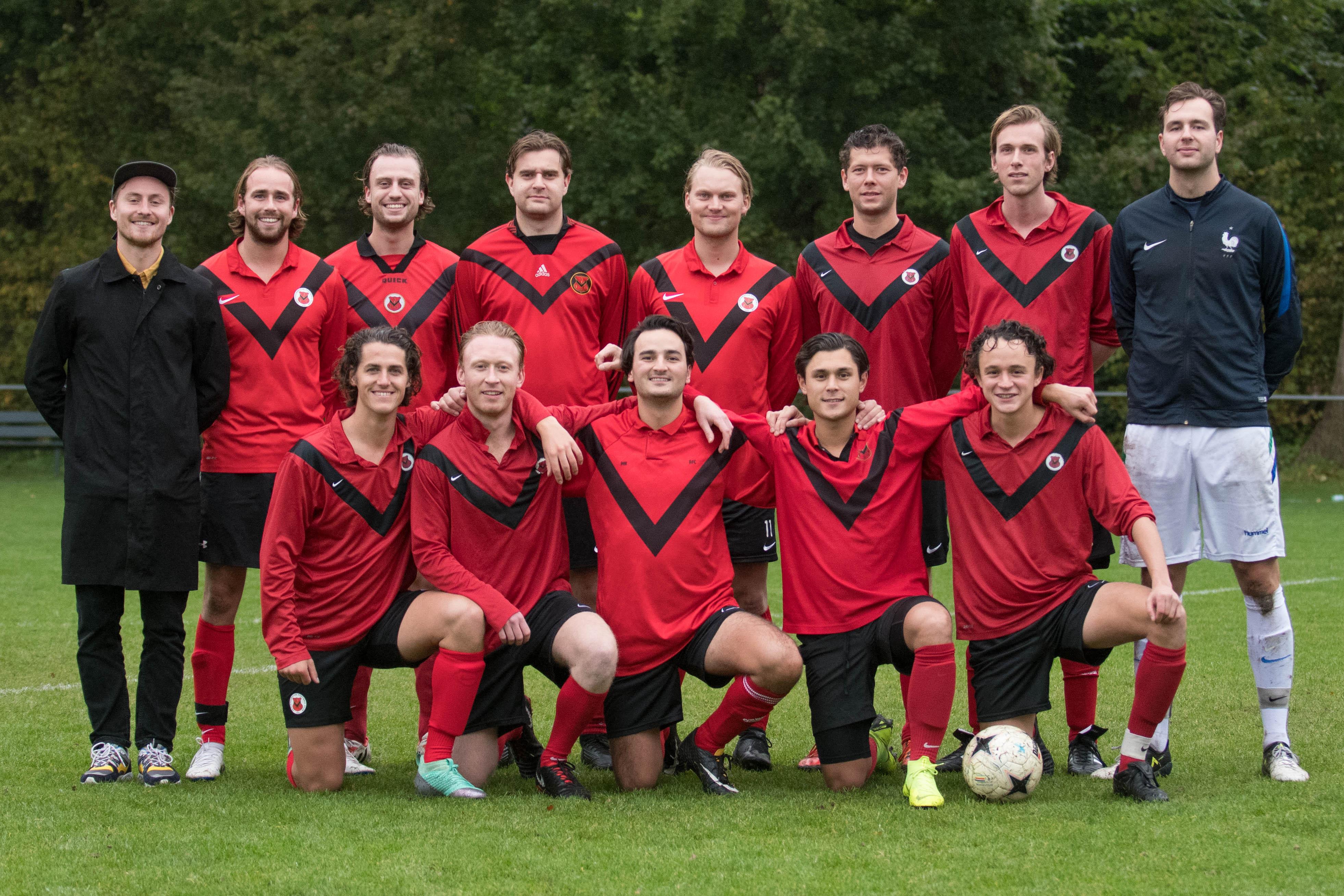 Teamfoto AFC Zaterdag 11