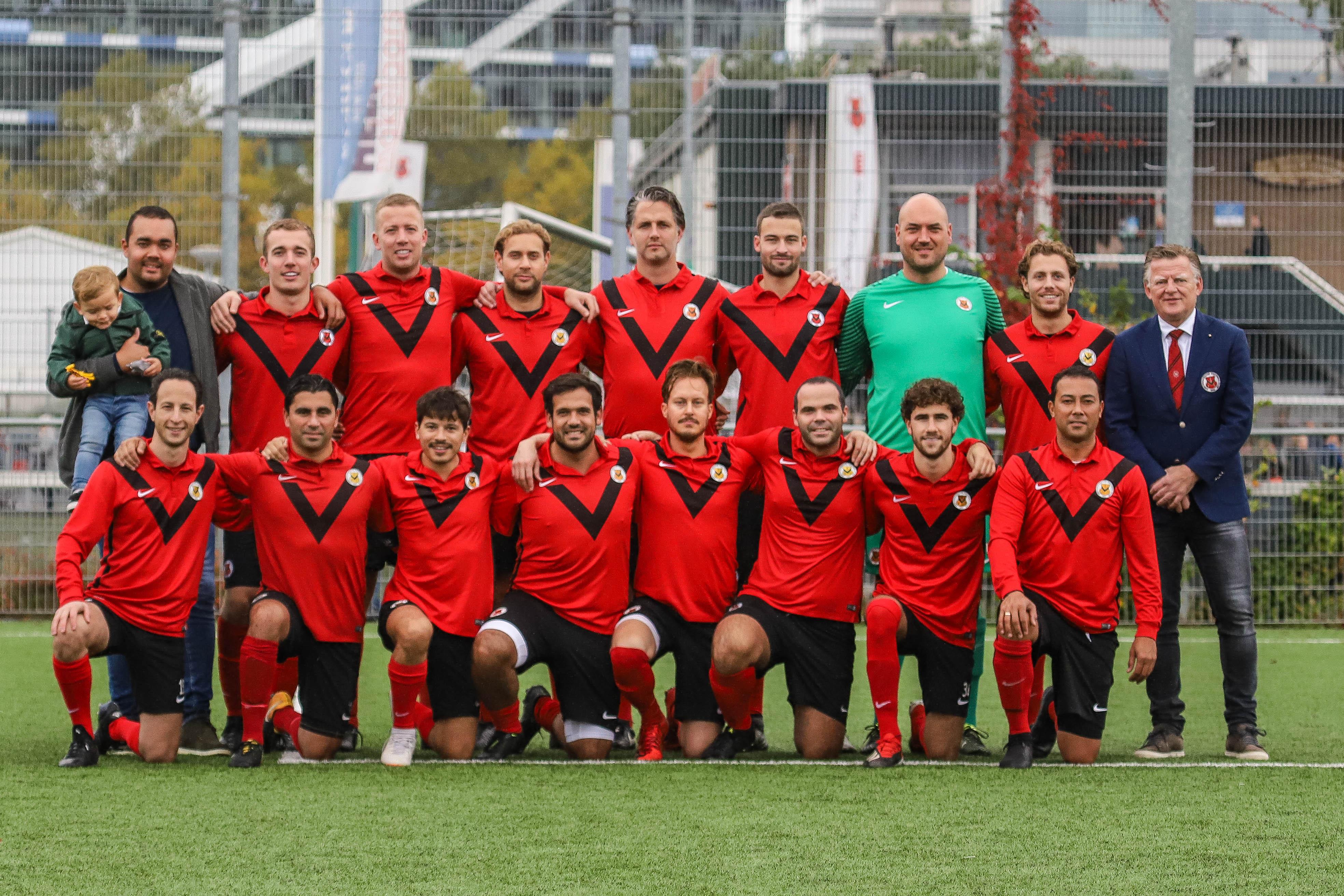 Teamfoto AFC Zaterdag 2