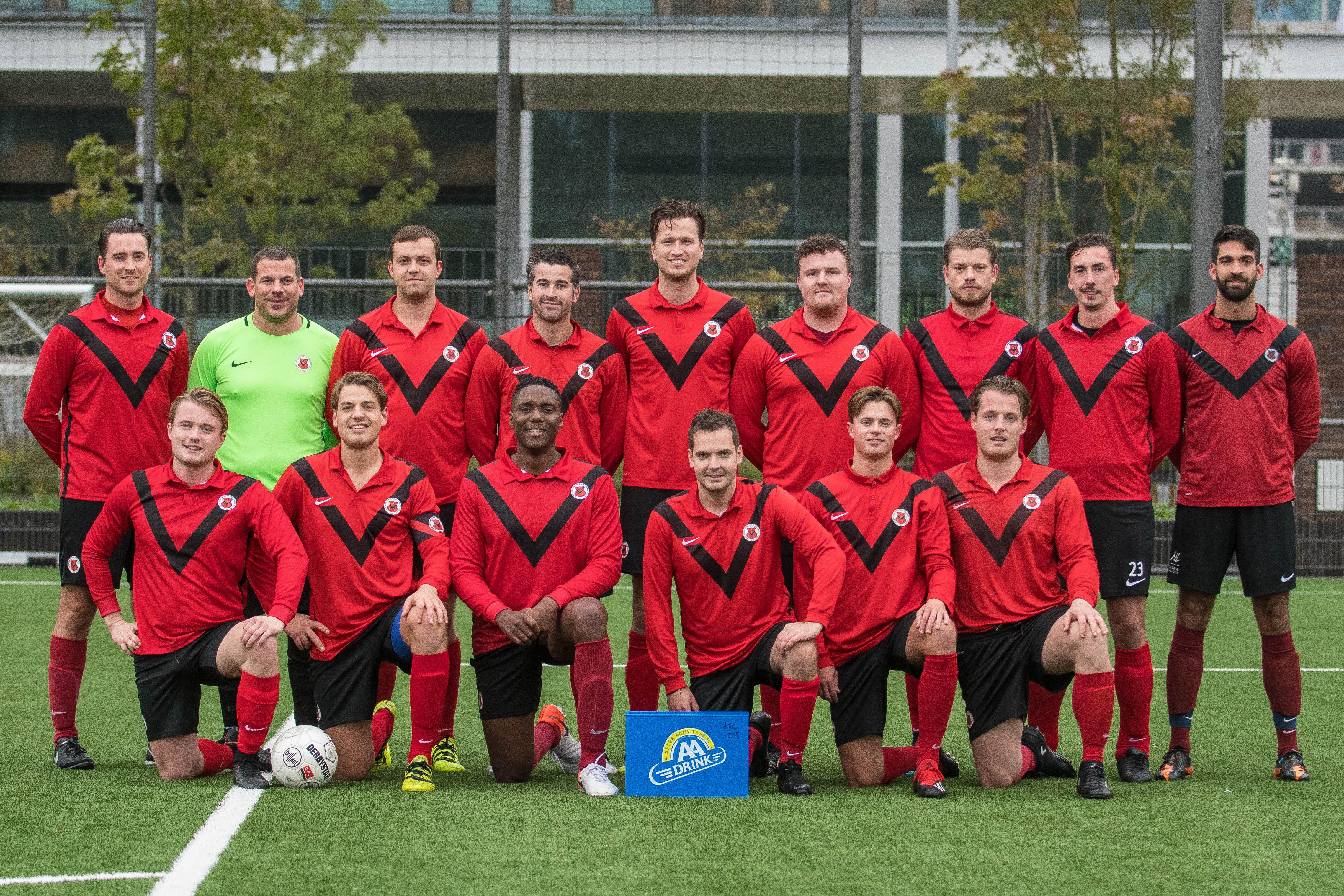 Teamfoto AFC Zaterdag 3