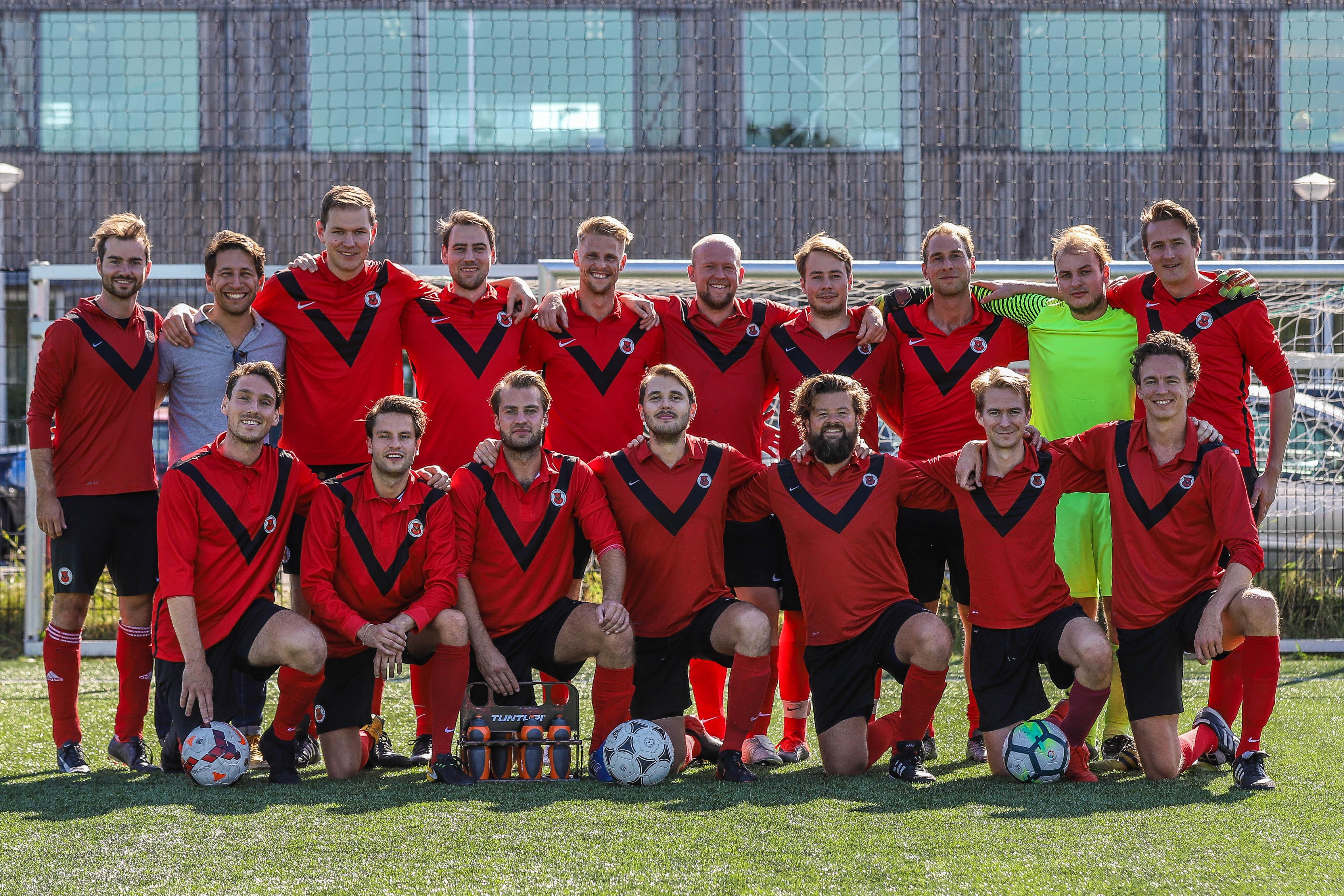 Teamfoto AFC Zaterdag 4