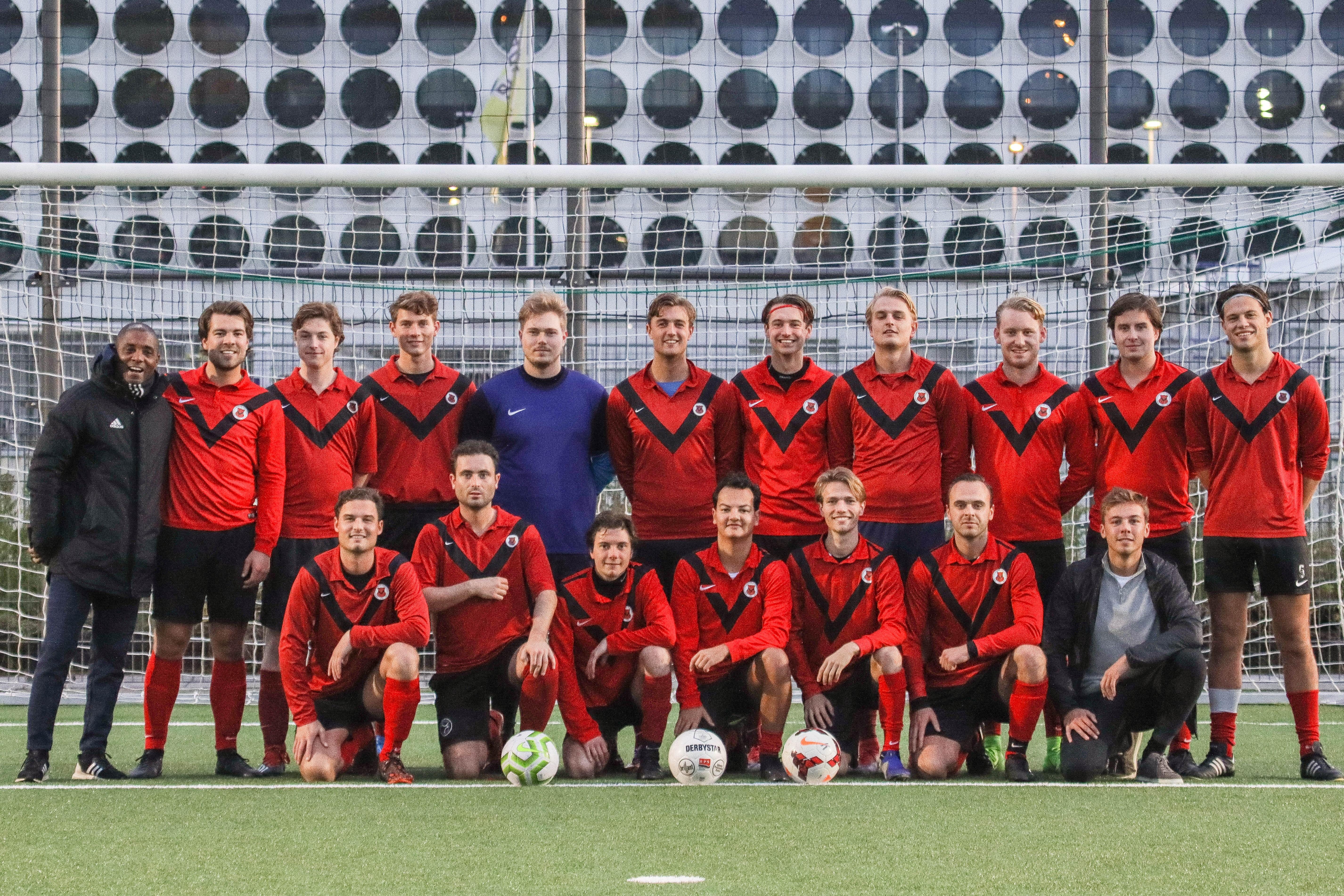 Teamfoto AFC Zaterdag 5