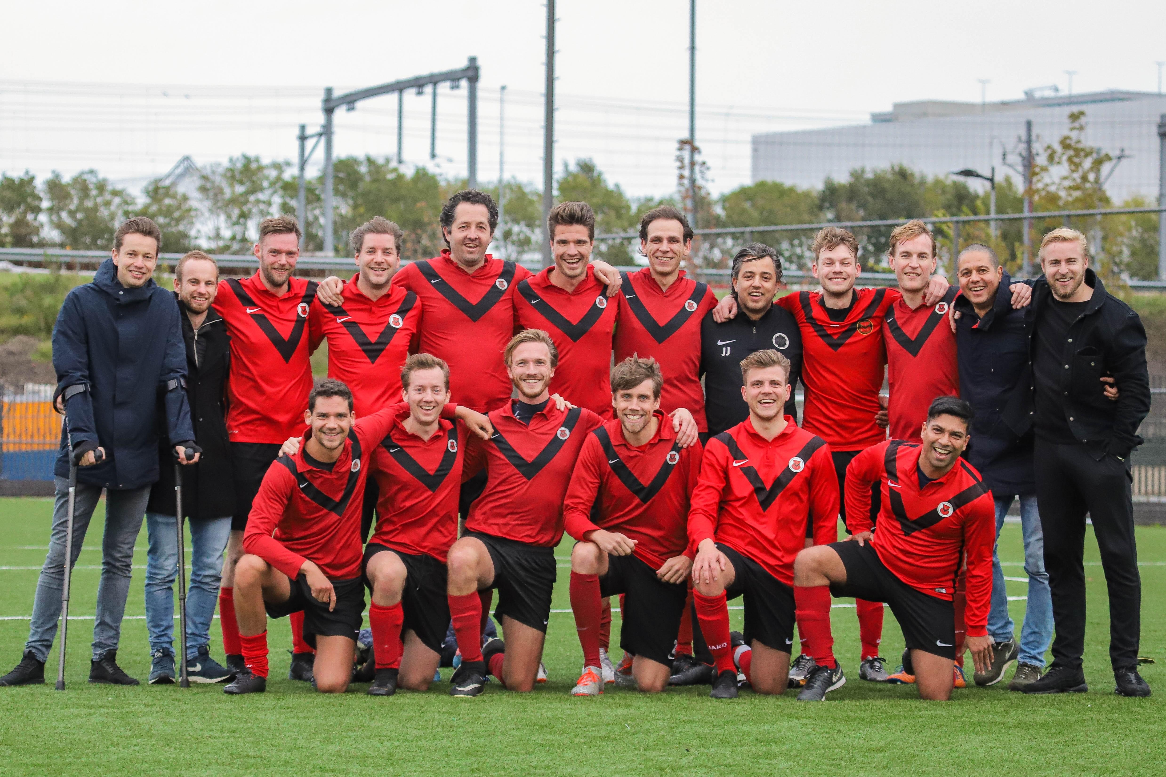 Teamfoto AFC Zaterdag 6