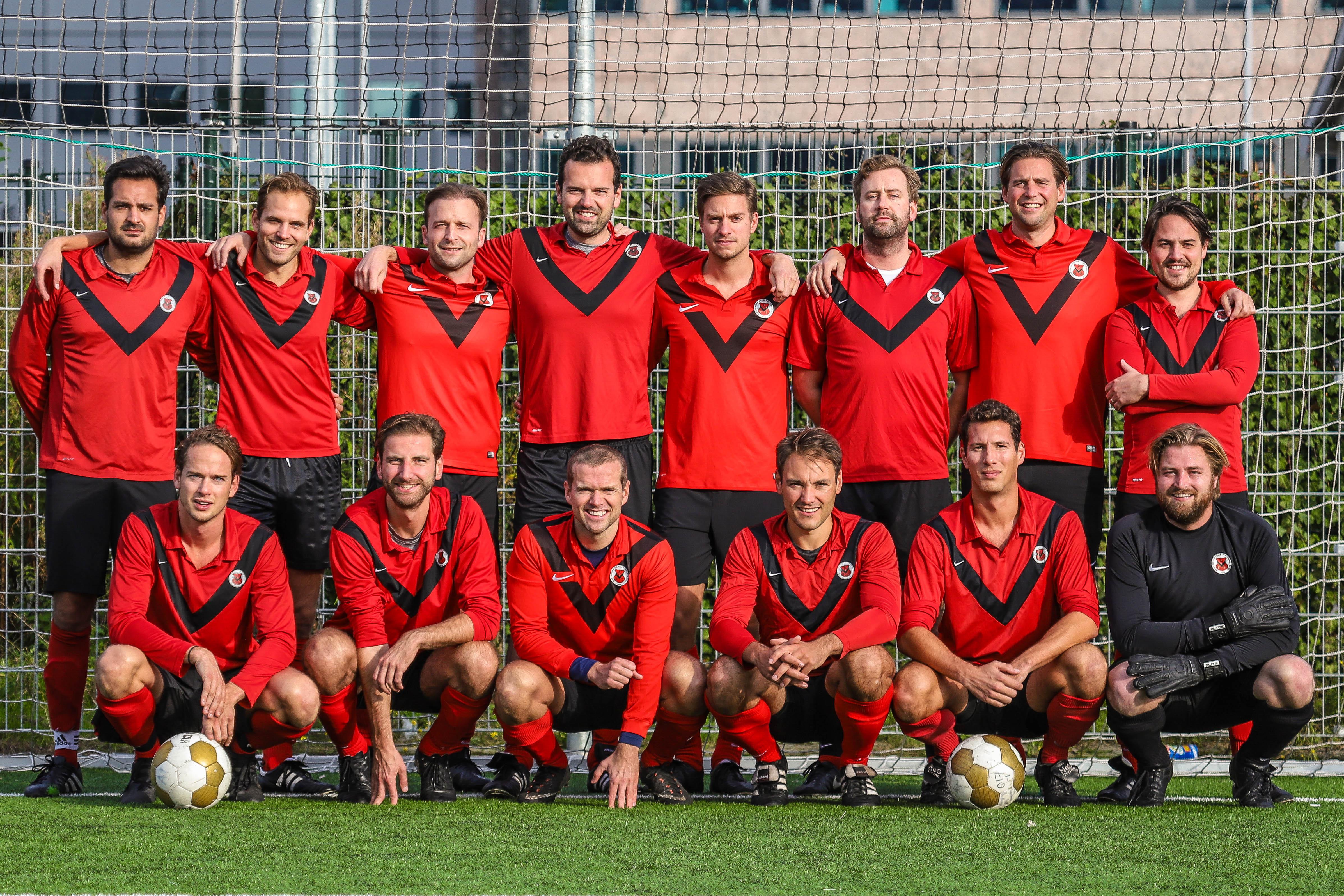 Teamfoto AFC Zaterdag 9
