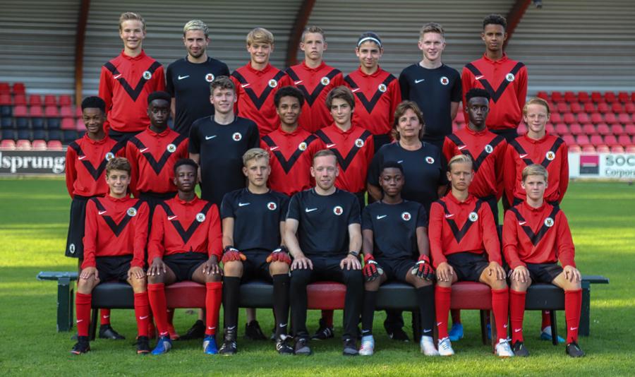 Teamfoto AFC JO15-1