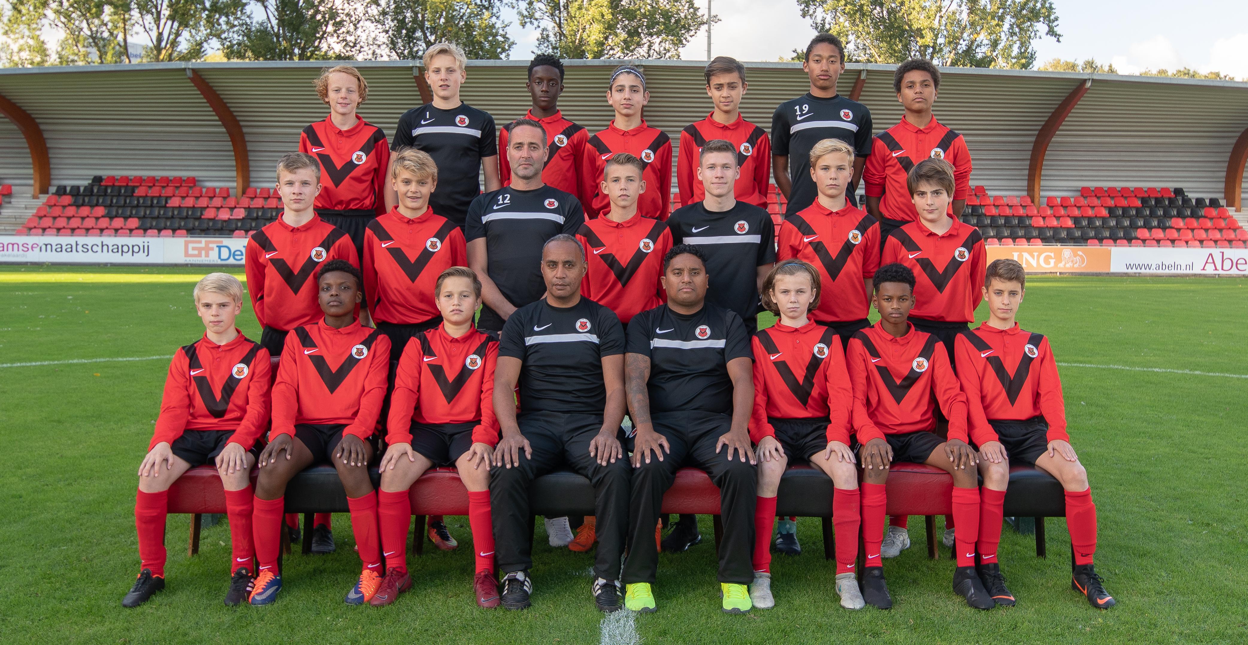 Teamfoto AFC JO15-2