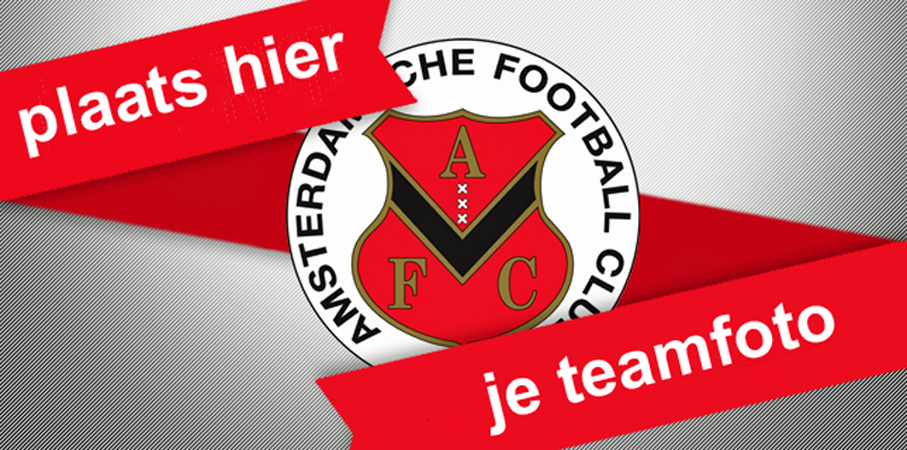 Teamfoto AFC Zondag 9