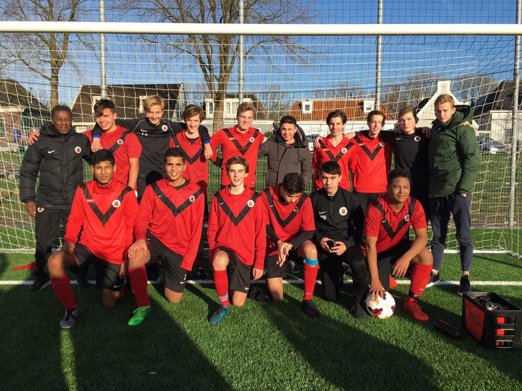 Teamfoto AFC JO17-1
