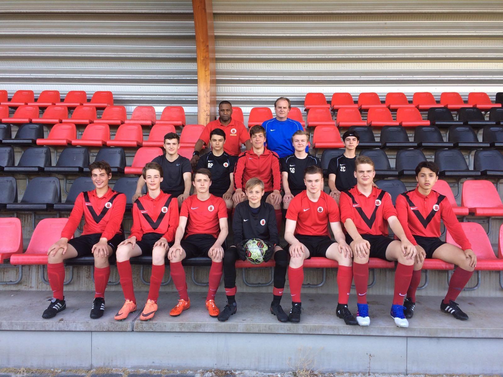 Teamfoto AFC JO17-2