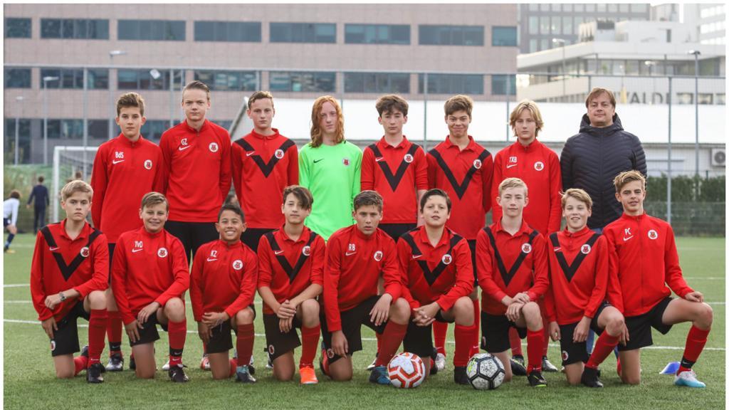 Teamfoto AFC JO15-3