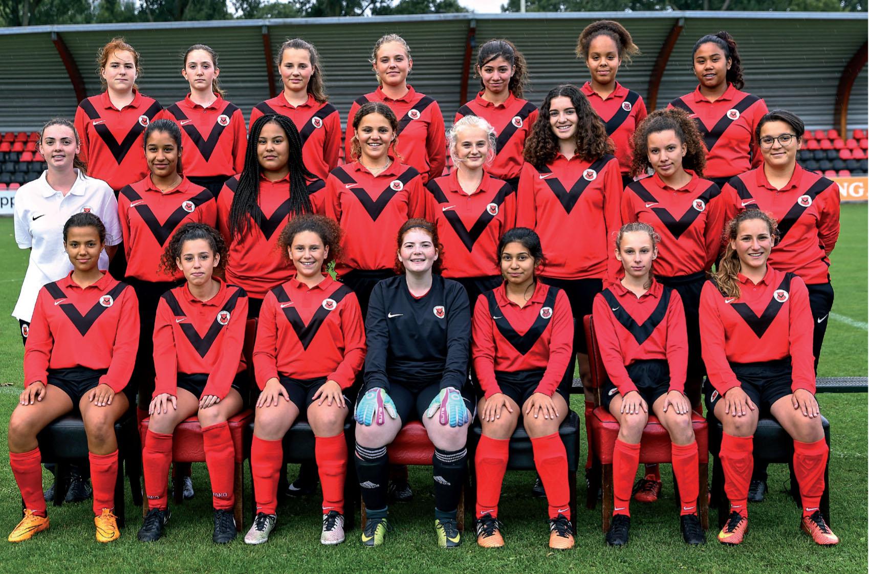 Teamfoto AFC MO17-1