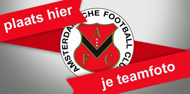 Teamfoto AFC FC Groningen
