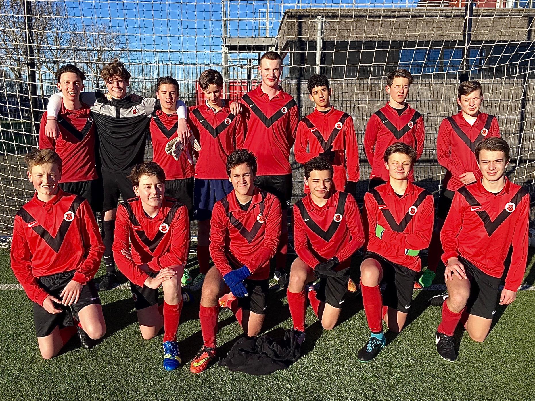 Teamfoto AFC JO17-4
