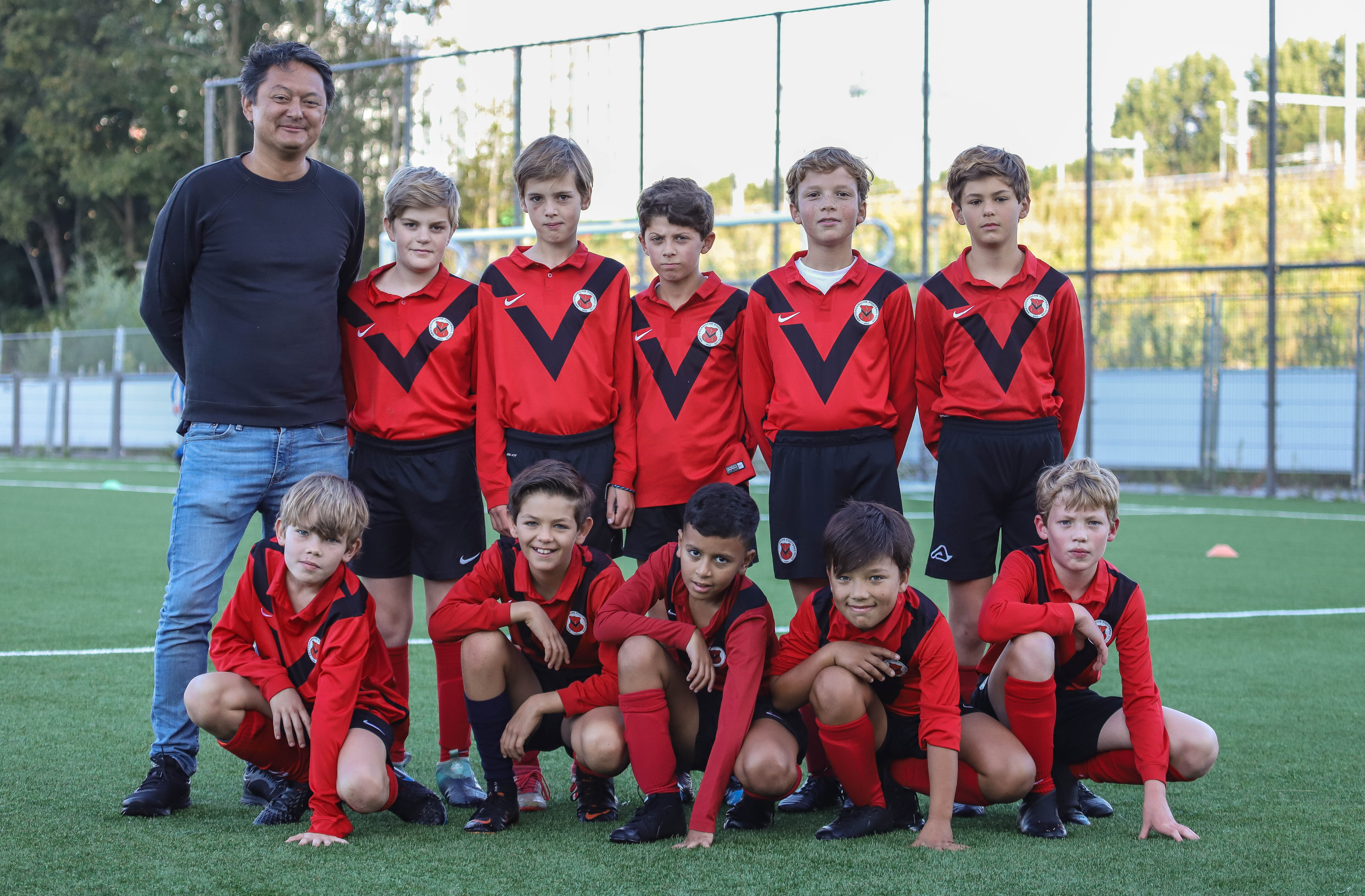 Teamfoto AFC JO12-6