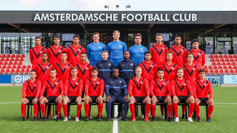 Teamfoto AFC Onder 21