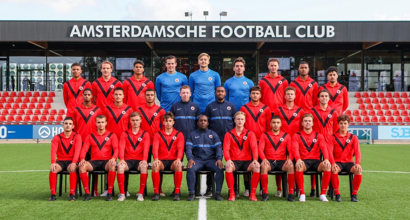 Teamfoto AFC AFC Onder 21