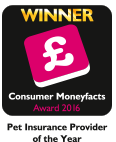 Pet Insurance Provider of the Year 2016