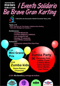 I Evento Solidario Be Brave Gran Karting