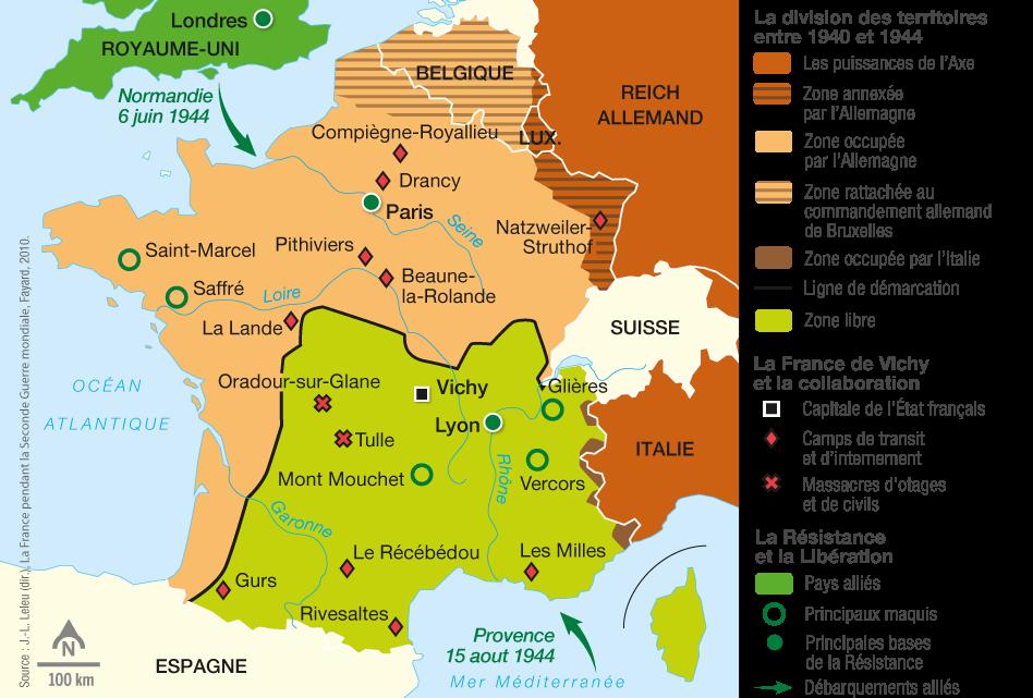 Seconde guerre mondiale France