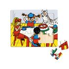 PIPPI FRAME PUZZLE, 15 PCS