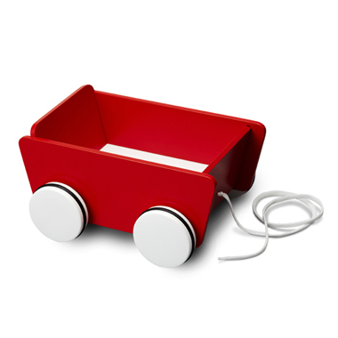 PULL-ALONG WAGON
