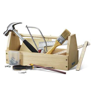 TOOLBOX WITH TOOLS