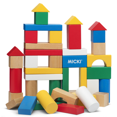 BUILDING BLOCKS, 40 PC,CLASSIC
