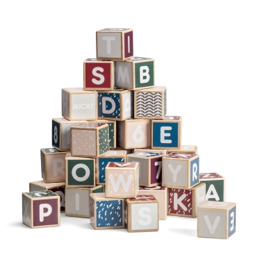 LETTER BLOCKS, SENSES 36 PCS