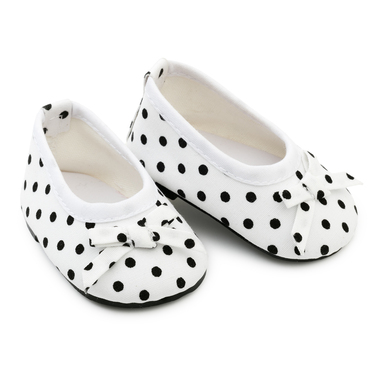SKRÅLLAN PARTY SHOES WITH DOTS