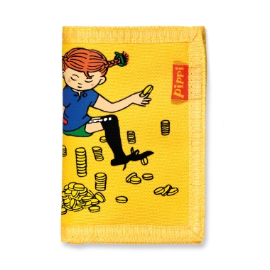 PIPPI WALLET, YELLOW