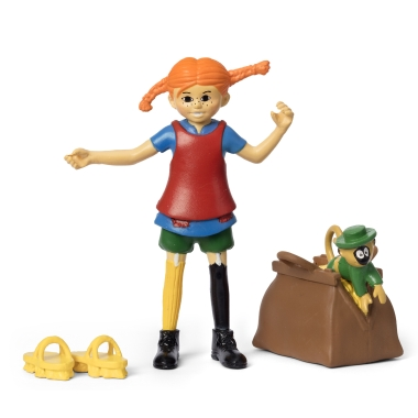PIPPI LONGSTOCKING FIGURE SET