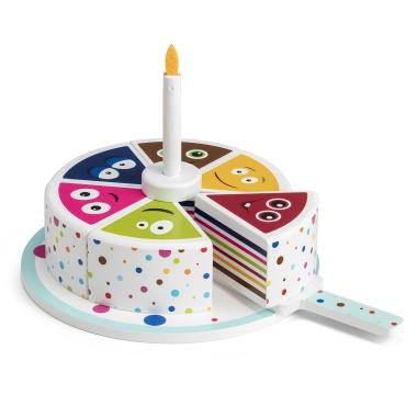 WOODEN BABBLARNA CAKE