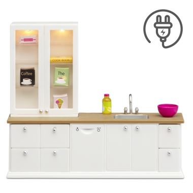 LUNDBY WASH-UP SINK+DISHW.