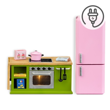 LUNDBY COOKER+FRIDGE SET