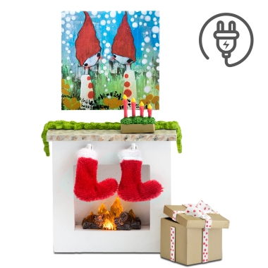LUNDBY FIREPLACE SET