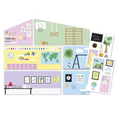 LUNDBY CREATIVE SCHOOL WALL