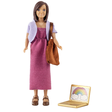 LUNDBY MOTHER W LAPTOP + BAG