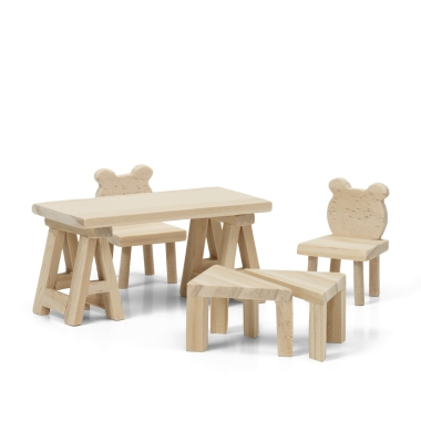 LUNDBY DIY TABLE + CHAIRS