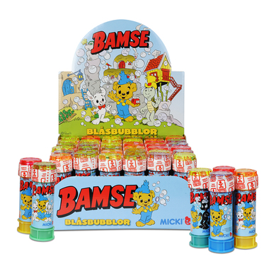 BLÅSB DISPL BAMSE 36 ST 60 ML